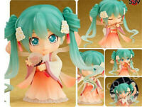 New Anime Nendoroid 539 Vocal Hatsune Miku Harvest Moon Ver. Figure 10cm Toy