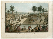 Rare Antique Print-FRENCH REVOLUTION-LAMBESC AT THE TUILLERIES-le Campion-1789