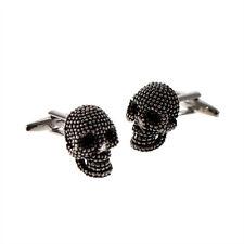 Studded Design 3D Skull Cufflinks X2N306