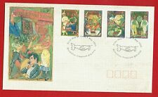 Australia 1993 Working Life 4 stamps on First Day Cover. Beautiful and Scarce