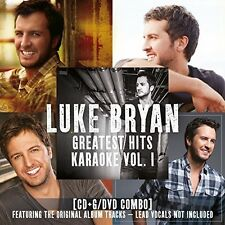 Greatest Hits Karaoke, Vol. 1 by Luke Bryan (CD, Oct-2016, 2 Discs, Capitol)