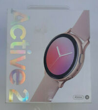Samsung Galaxy Watch Active 2 SM-R830 40mm Aluminum Case with Sport Band Smartwatch - Pink Gold (Bluetooth)