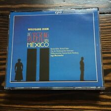 Wolfgang RIHM The Conquest of Mexico 2 CDs CPO Metzmacher Opera Artaud Paz