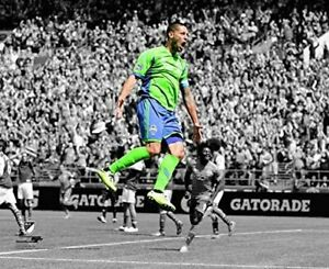 "Clint Dempsey Seattle Sounders FC MLS Spotlight Action Photo (Size: 8"" x 10"")"