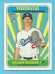 WALKER BUEHLER 2018 Topps Heritage Rookie Performers #WB Dodgers