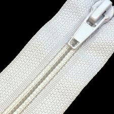 Nylon Open Ended Zips - No 5 Autolock Zipper (22 Zip Colours & 15 Lengths)
