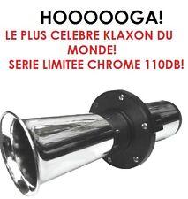 HOOOOOOOOOOOGA! 12V 110DB !! LE PLUS CELEBRE KLAXON DU MONDE! HYPER PUISSANT !!!