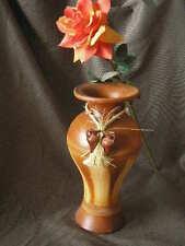 JARRON de barro, tamaño xl, 64 cms. de alto, colores marrones