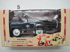 DIE CAST METAL PEDAL POWER 1:10 SCALE  POLICE W+