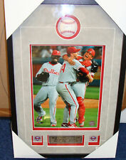 Roy Halladay Perfect Game 16x20 Auto Baseball Framed