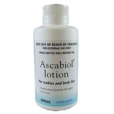 Ascabiol Lotion 200Ml For Scabies And Body Lice Emulsion Pediculosis