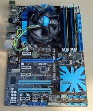 ASUS P7P55D-E LX 1156 SCHEDA MADRE CON CPU i5-650 + Dissipatore Di Calore/Ventilatore + 4GB di RAM