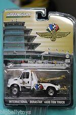International Durastar Indy 500 Motor Speedway Race Tow Truck wrecker greenlight