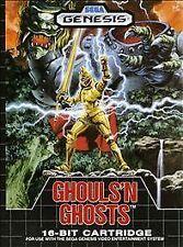 Ghouls 'n Ghosts (Sega Genesis, 1989) Original Manual & Repro Artwork