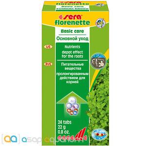 sera Florenette Root Tabs 24 count Aquarium Plant Minerals and Trace Elements