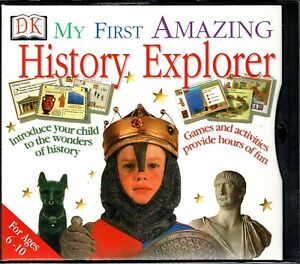 DK My First Amazing History Explorer Pc New XP Learn 8 Major Periods In History