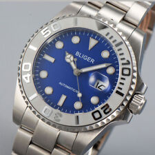 40mm BLIGER Ceramic Bezel Luminous SUB sapphire mechanical automatic mens watch