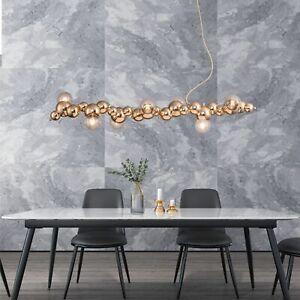 Gold Chandelier Lighting Bar Large Lamp Kitchen Pendant Light Shop Ceiling Light