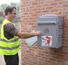 Mail & Parcel box that has had good revues - easy to fit- cannot rust ...