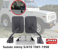 GENUINE @US SUZUKI GYPSY SJ410 SJ413 LH /& RH SIDE EXTERIOR REAR VIEW MIRROR SET