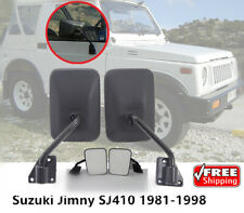 Suzuki Jimny Sierra Samurai Gypsy Santana SJ410 SJ413 Door Side Mirror 81-98 New