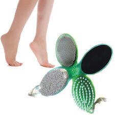 4 In 1 Pedicure Tool Foot Nail Buffer Brush Callus Rasp Scrubs Pumice Stone RJ