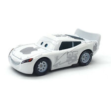 MT Cars White Apple Lightning McQueen Diecast Toy Car 1:55 Loose Kids Toy