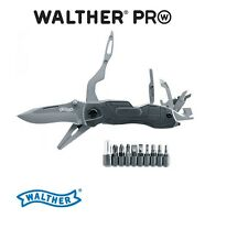 Walther PRO Multi Tac Tool Messer inkl. Bithalter und Etui NEU OVP