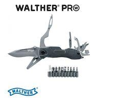 Walther PRO Multi Tac Tool Messer inkl. Bithalter und Etui NEU OVP