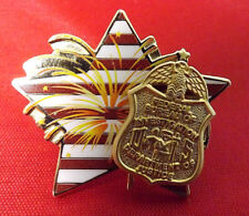 Kokopelli Traders Co. FBI Dept. of Justice (July 4th?) Lapel Pin Super Condition