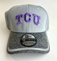 New Era 39thirty TCU Horned Frogs L-XL Flex Fit Curved Bill. Cap Hat. NEW! 🧢