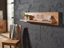 Massivholz Wandboard Regal 150 cm Holz Eiche Hängeregal WINSTON Wildeiche massiv