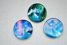 Snap metal Chunk Button Charm for Leather Snap bracelets 18-19MM assorted ANGELS