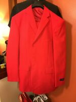 Suge Knight All Red Tony Blake Suit 46L 40W