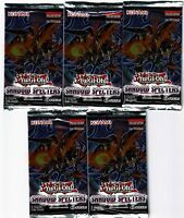 SHADOW SPECTERS 1ST EDITION YU-GI-OH FACTORY SEALED BOOSTER PACKS  (5 PACK LOT)