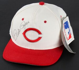 Pete Rose Signed Reds Adjustable Hat (Hollywood Collectibles) All Time Hit King