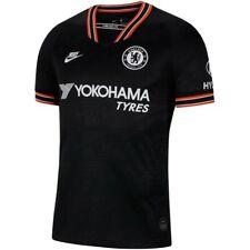 Nike Chelsea Fc Season 2019 - 2020 Third Soccer Jersey Brand New Black / Orange