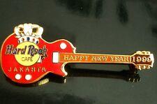 HRC Hard Rock Cafe Jakarta New Year 1999 Crown Guitar
