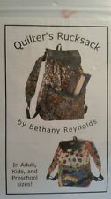 Quilter's Rucksack Sewing Pattern By Bethany Reynolds - Adult, Kids & Preschool