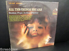 Arthur Fiedler Boston Pops All The Things You Are RCA USA LP LSC-2906