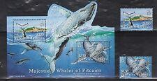 Pitcairn Island 645-46A Whales Mint NH