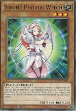3 X YU-GI-OH CARD: SERENE PSYCHIC WITCH - HSRD-EN049 - 1st EDITION