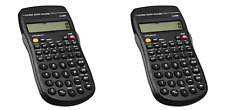 2-PACK Pocket Scientific Calculator Electronic 10-Digit w/Battery SAME-DAY SHIP
