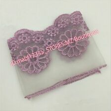 F163C Floral Tulle Lace Trim Ribbon Flower Embroidery Wedding Trim Sewing crafts
