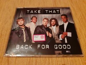 """Take That """"Back for good"""" CD single ..Nuovo.."""