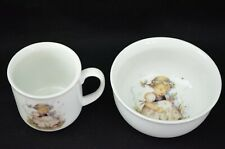 Vintage Mj Hummel Lily Of The Valley Children Cup and Bowl