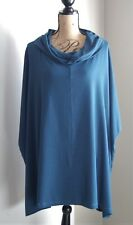 NWT Bryn Walker Cowl Poncho Tunic Top, Uccello, Size Large