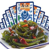10 Bags x 50g Wujiang Fuling Haidaisi Shredded Kelp 乌江鲜香味海带丝即食海味小吃零食下饭菜海带菜 10袋装