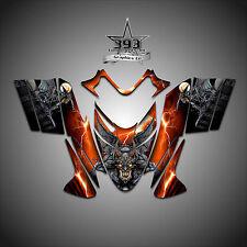 Polaris IQ RMK Shift Dragon Graphics Decal Wrap 2005-2012 Guardian Orange