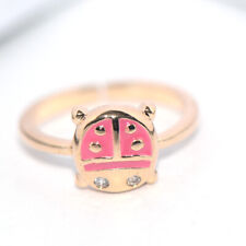 safety gold ring for baby kids children little girls lovely jewelry rings